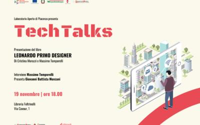 """Tech Talks: Massimo Temporelli presenta il libro """"Leonardo primo designer"""""""