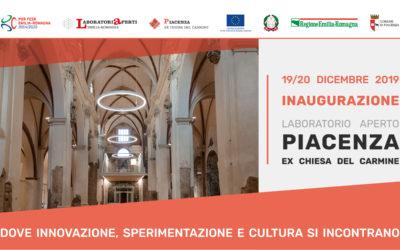 Inaugurazione Laboratorio Aperto Piacenza – Ex Chiesa del Carmine