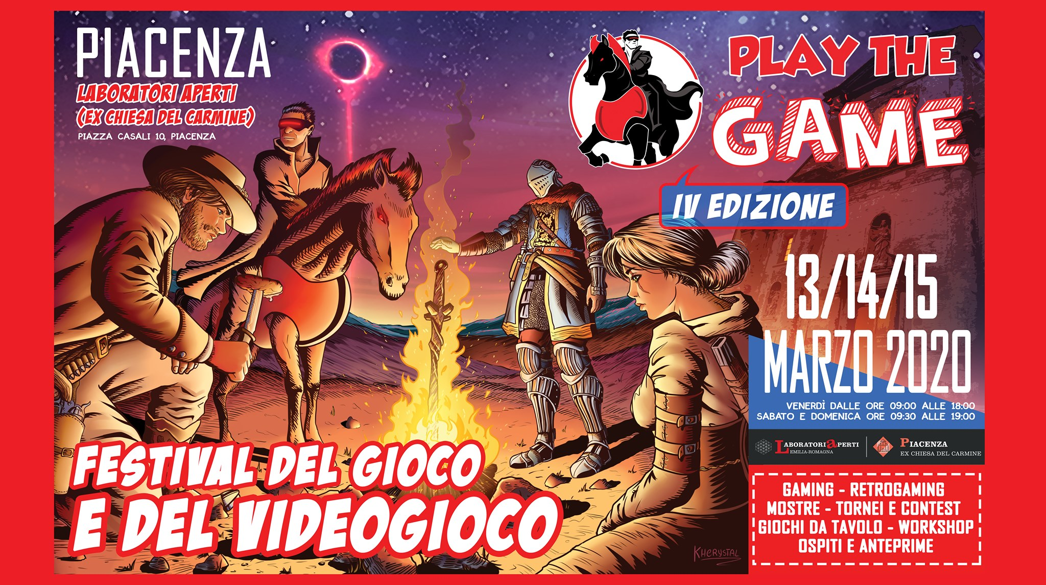 Play the game: festival del gioco e del videogioco