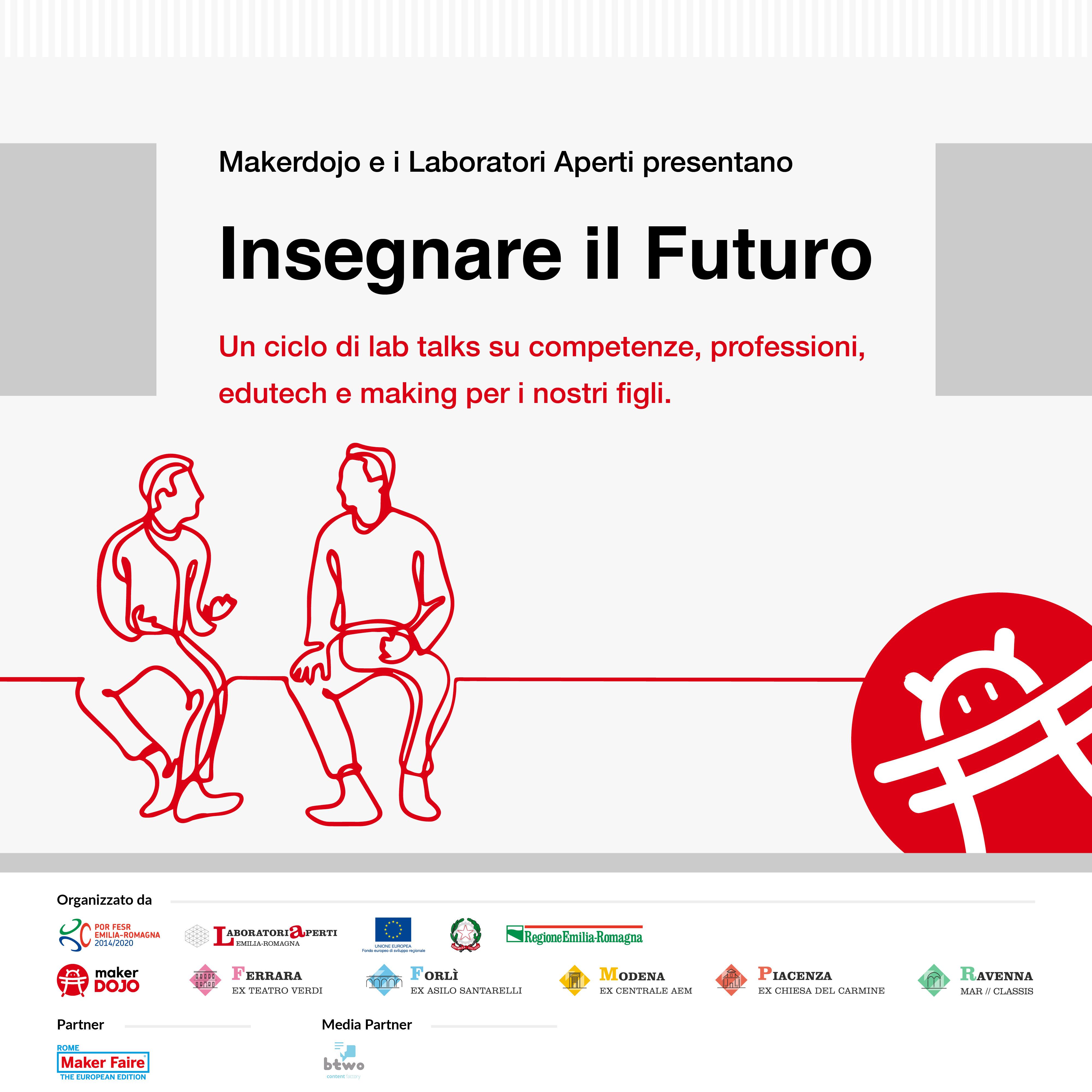 """CICLO DI TALK """"INSEGNARE IL FUTURO"""""""