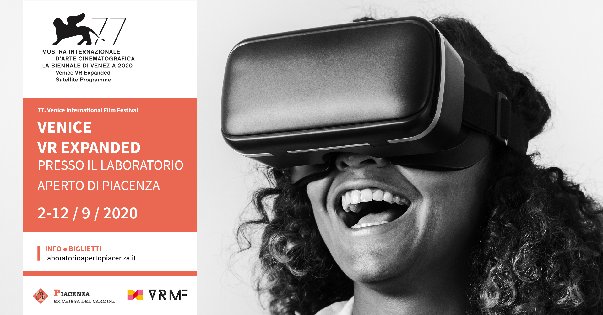 VENICE VR EXPANDED A PIACENZA!