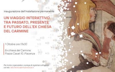 """Inaugurazione dell'installazione """"Carmine Experience"""""""