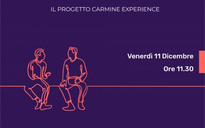 """MAKER FAIRE ROME 2020: WEBINAR """"La fruizione dei beni culturali nell'era del digitale: il progetto Carmine Experience"""""""