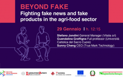 Beyond fake. Fighting fake news and fake products in the agri-food sector – webinar